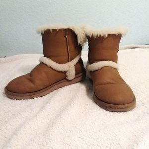 Ugg Special Edition Boot with Sherpa Lined Seams